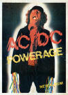 acdc powerage tour poster
