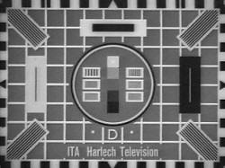 The 425 Line test card I remember growing up with